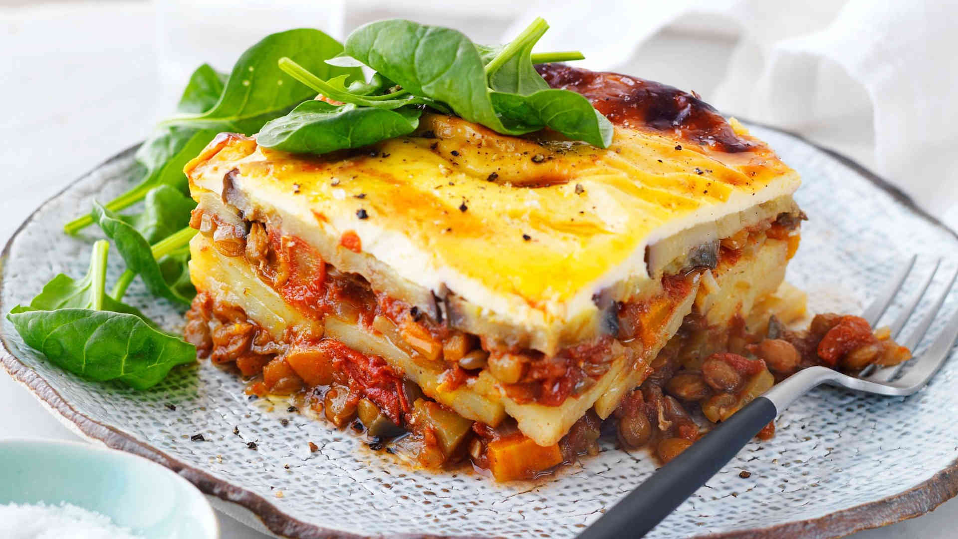 Piatto di Moussaka