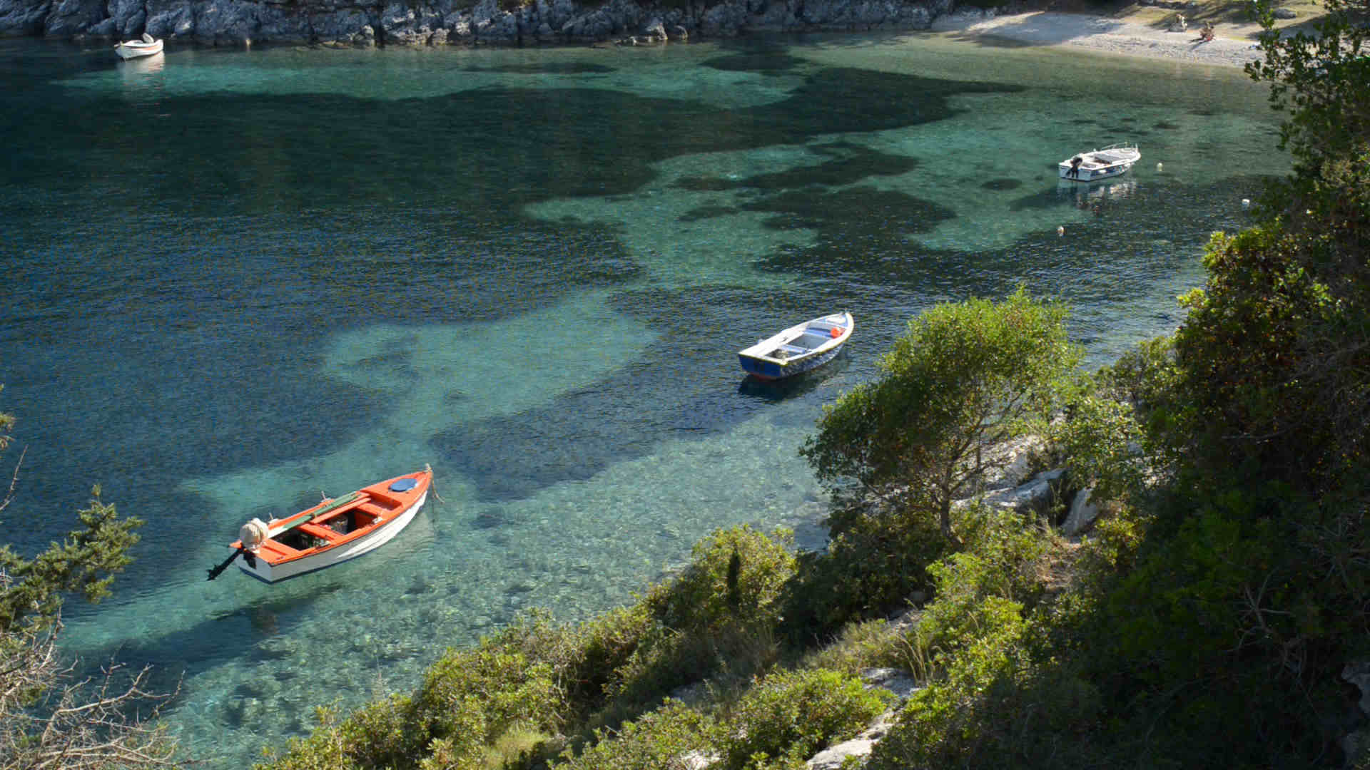 Spiaggia a Cefalonia