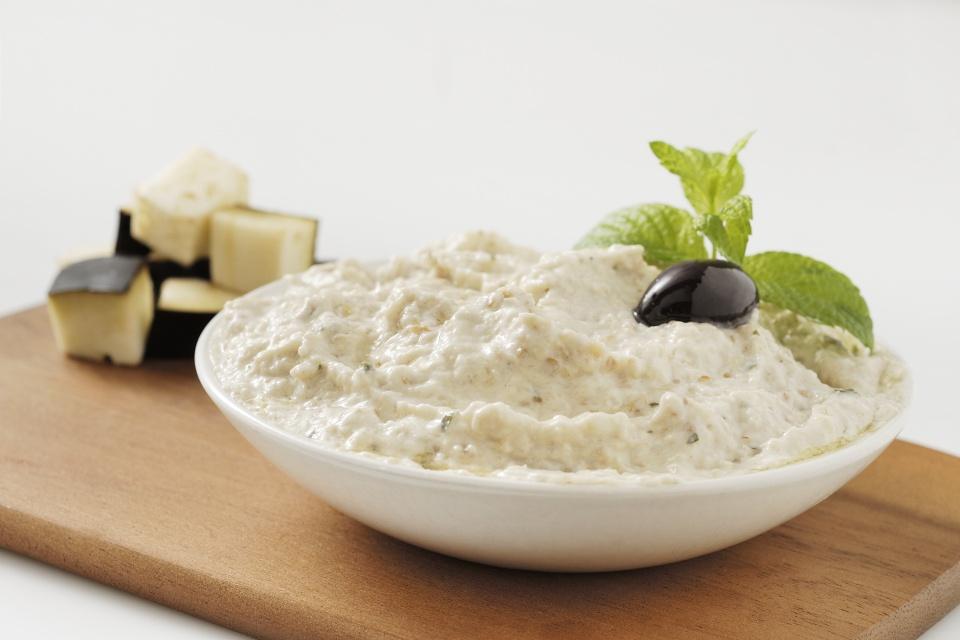 Melitzanosalata Salsa Tipica Greca