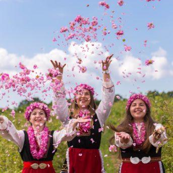 Bulgaria Festa delle rose in Bulgaria