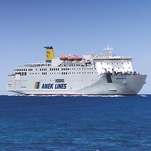 Nave Asterion II, Traghetti Grecia Anek