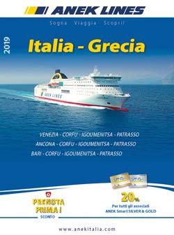Catalogo Traghetti Italia Grecia Anek 2019