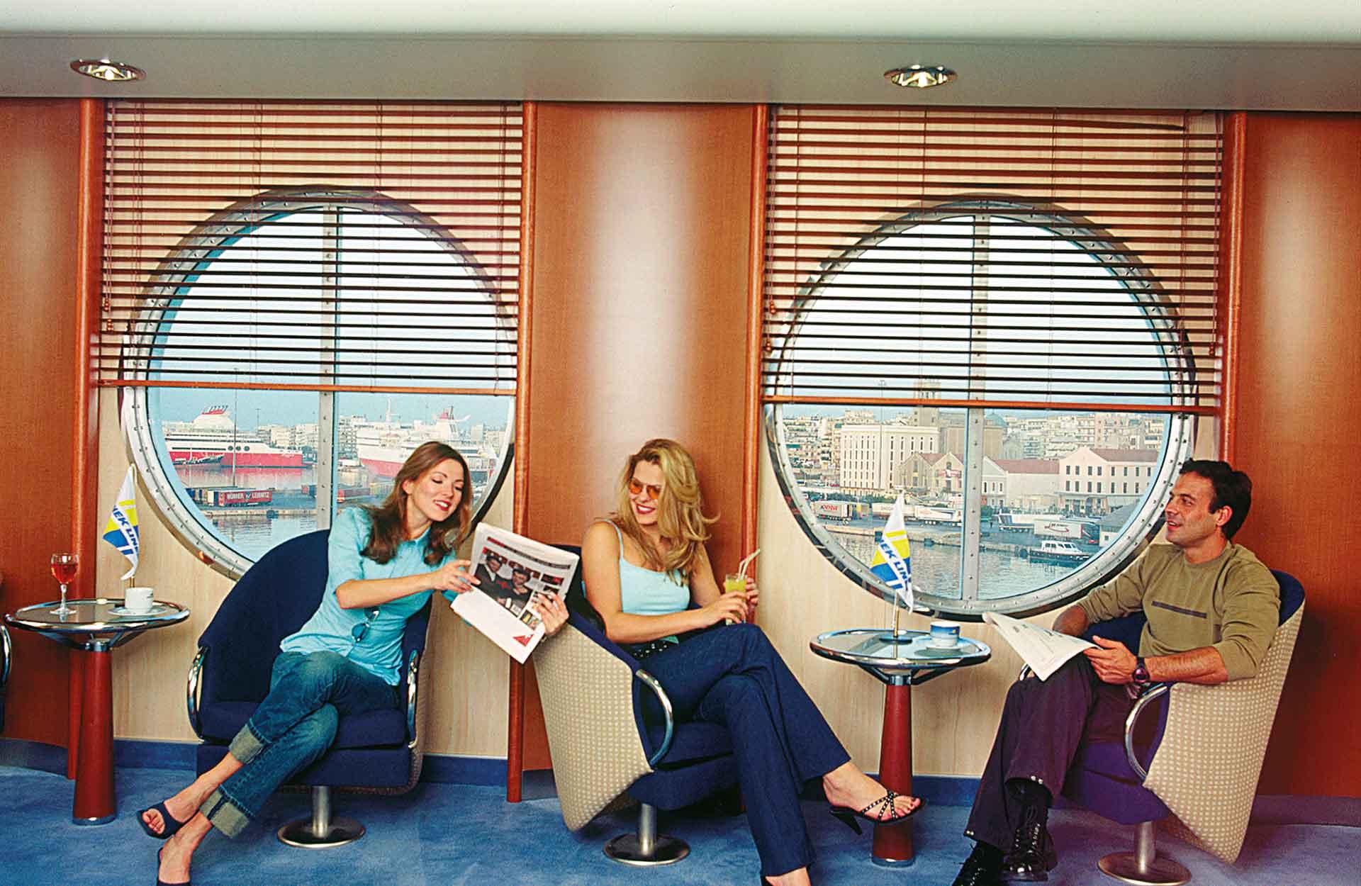 Sala attesa, Hellenic Spirit, Anek Traghetti Grecia