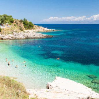 Spiaggia di Bataria, Kassiopi, Corfù