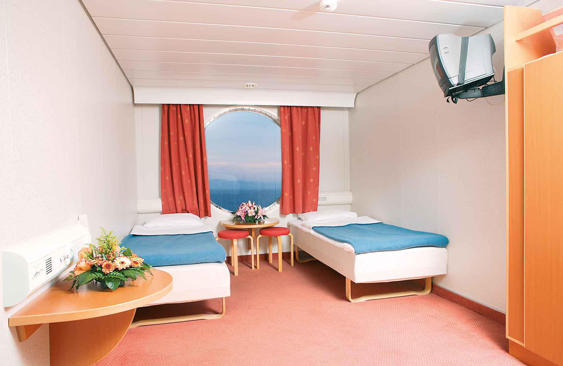 Cabina doppia, Hellenic Spirit, Traghetti Grecia Anek