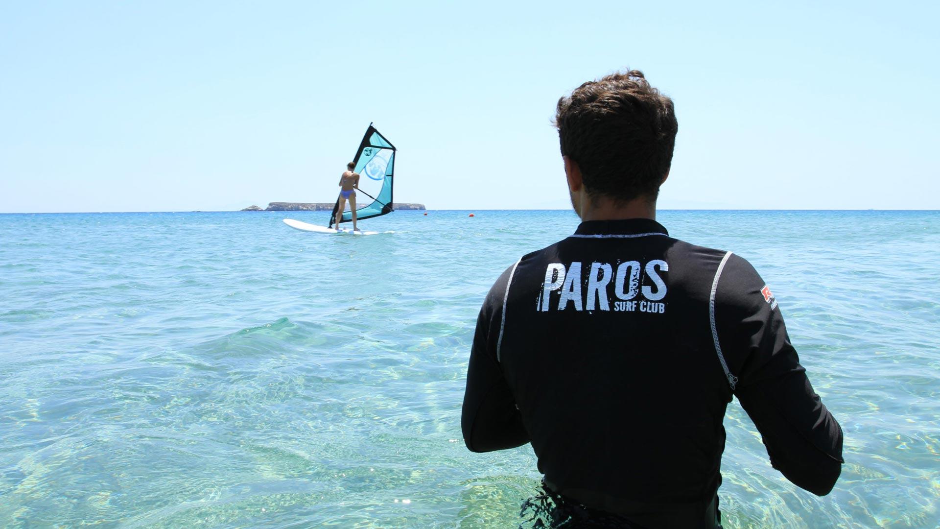 Paros spot per Windsurf e Kitesurf