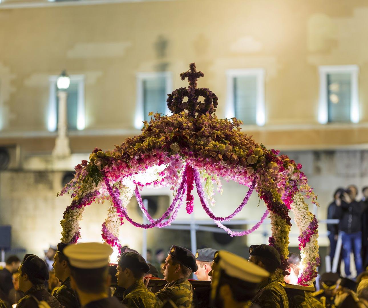 Pasqua ad Atene