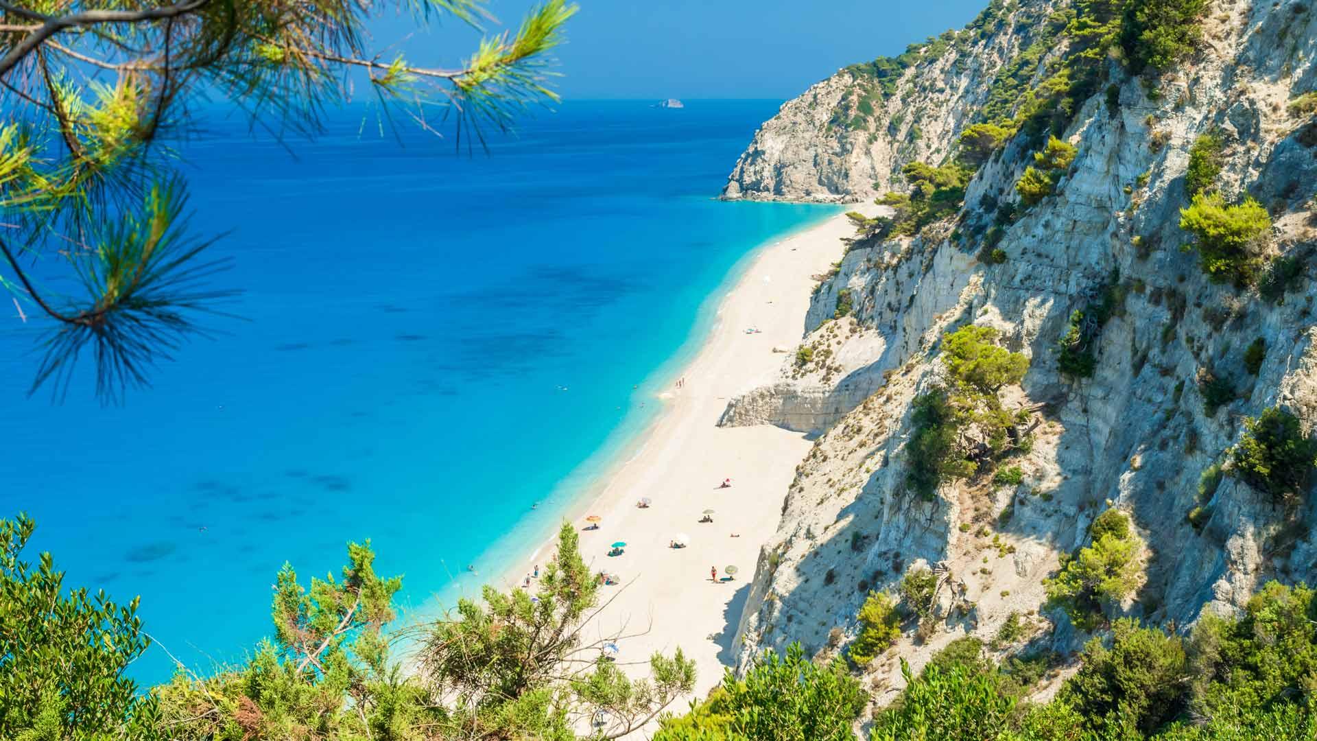 Spiaggia di Egremni, Lefkada