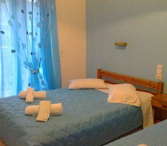 Camera da letto, Roussa Studio Zante