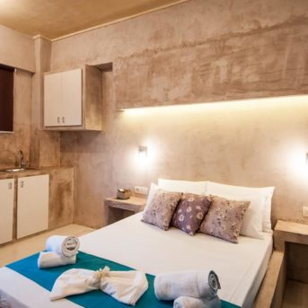 Camera da letto, Zante Nest studio