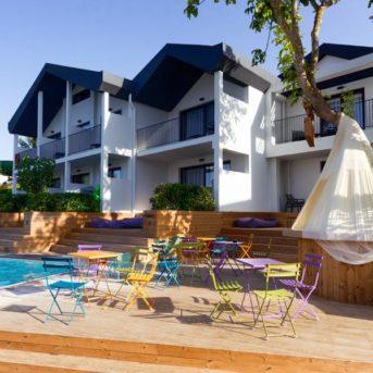 Tavoli esterni, Aqua Bay Hotel Zante
