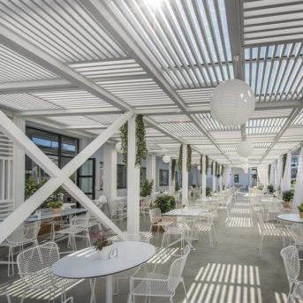 Sala ristorante esterna, Aqua Bay Hotel Zante