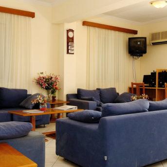 Sala comune, Andreolas Hotel Zante