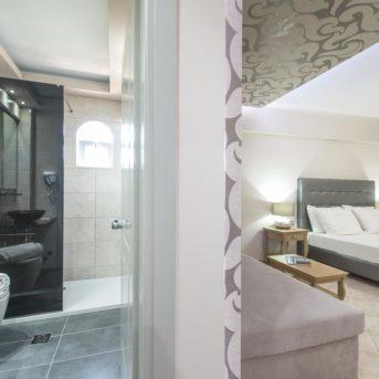 Camera e bagno, Balcony Hotel Zante