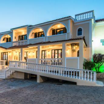 Esterno sera, Bozikis Palace Hotel Zante