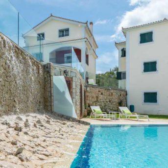 Esterno con piscina, Erietta Luxury appartamenti Zante
