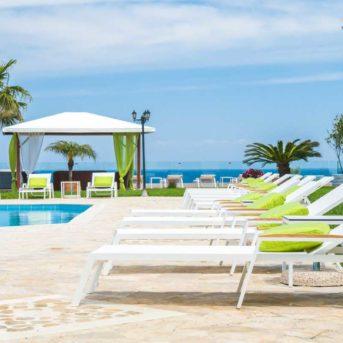 Bordo piscina, Erietta Luxury appartamenti Zante