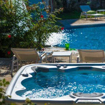 Vasca idromassaggio, Erietta Luxury appartamenti Zante