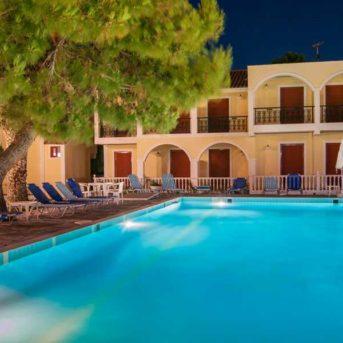 Piscina notte, Iliessa Beach Hotel Zante