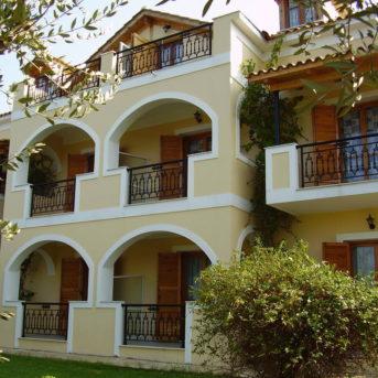 Facciata esterno, Kavos Psarou Appartamenti Zante