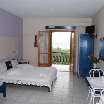 Camera da letto, Kavos Psarou Appartamenti Zante
