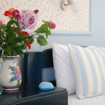 Dettaglio letto, Kavos Psarou Appartamenti Zante