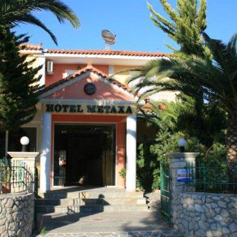 Ingresso esterno, Metaxa Hotel Zante