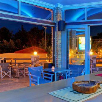 Sala ristorante notte, Plaka beach Hotel Zante