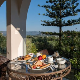 Tavolo colazione, Varres Hotel Zante