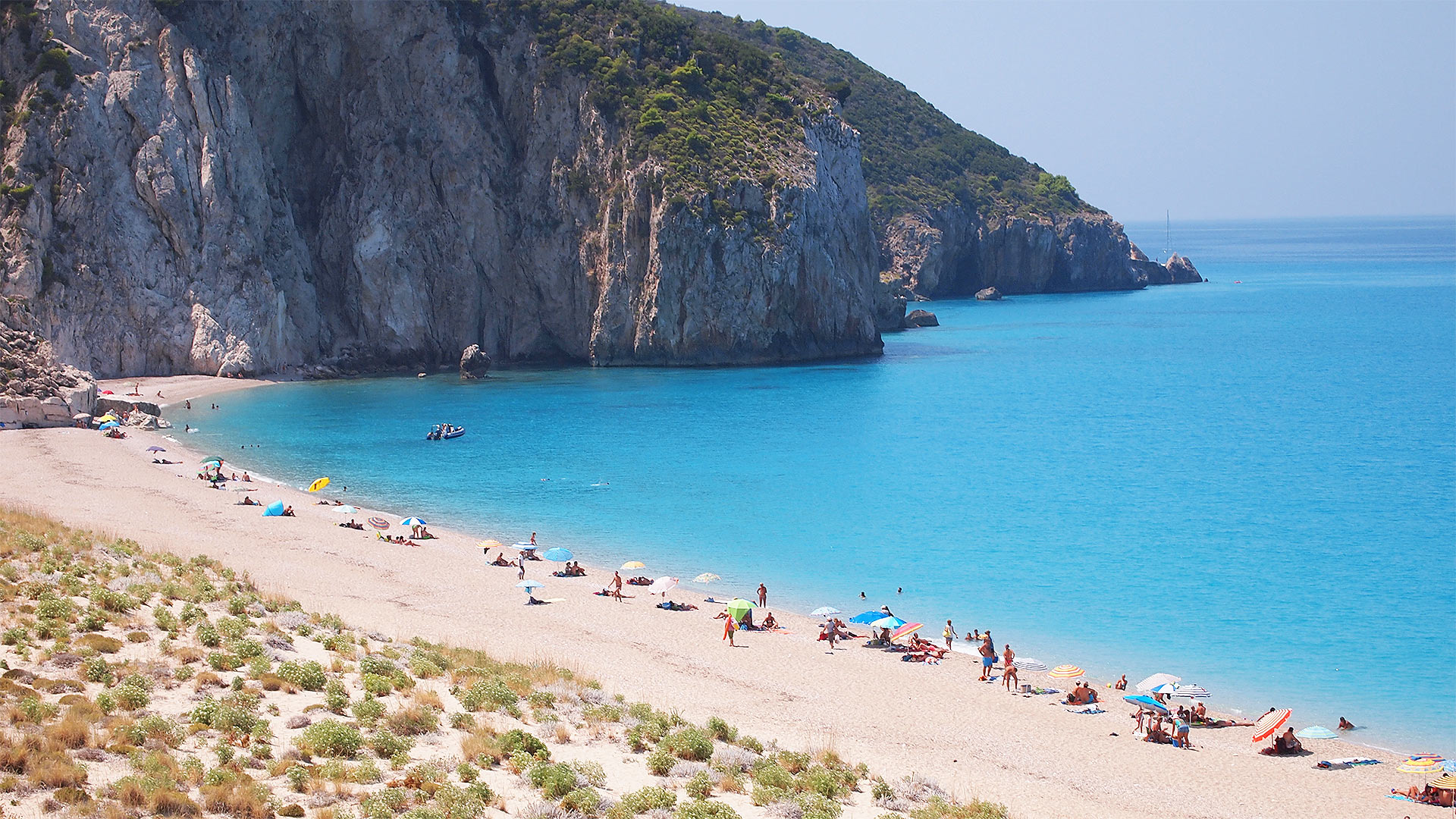 Mylos beach a Lefkada