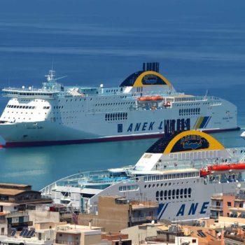 Sconto prenota prima traghetti Italia-Grecia anek lines
