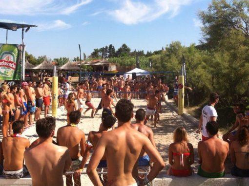 Croazia isola di Pag piscina Novalja