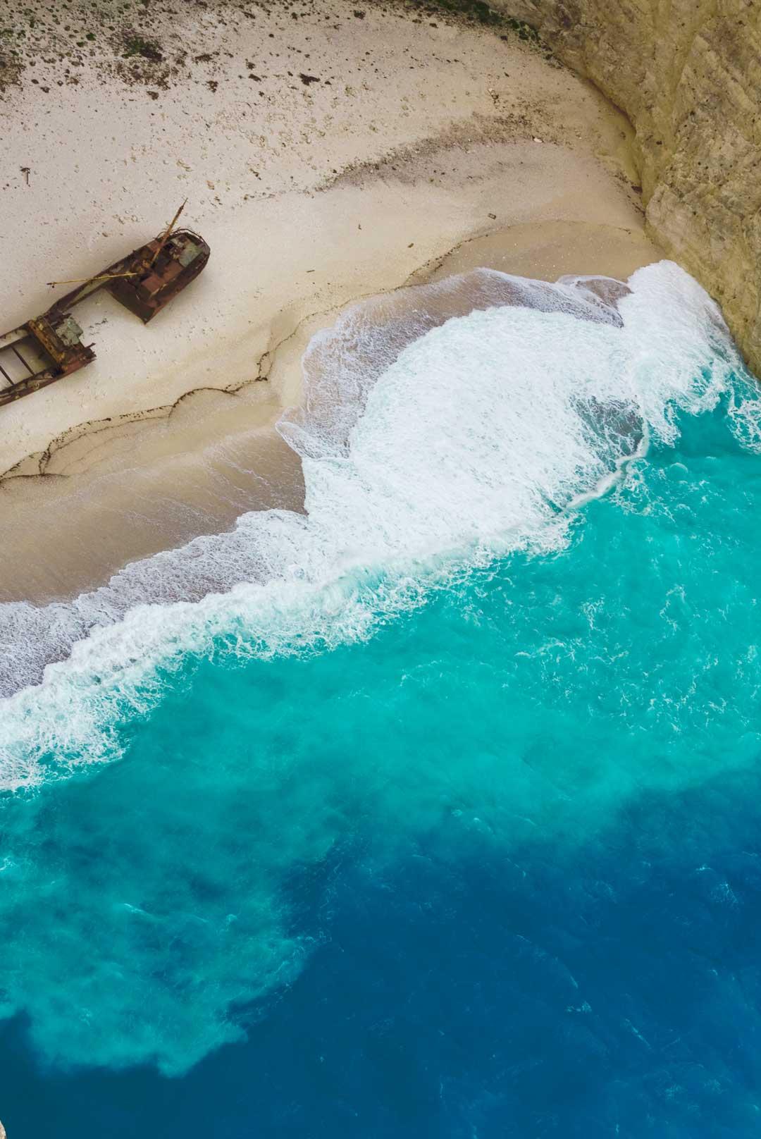 La Spiaggia del Navagio: uno spettacolo da non perdere